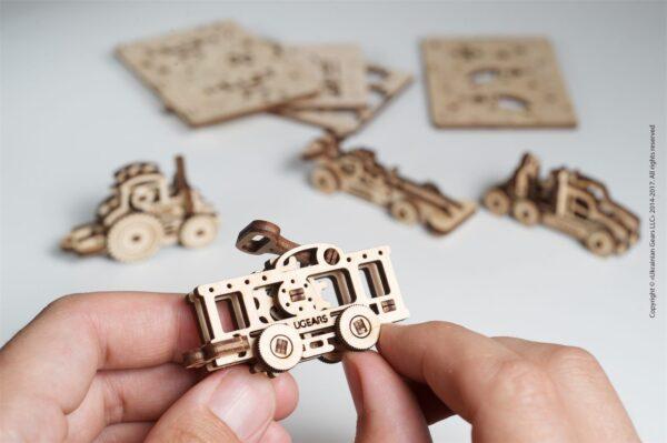 U-Fidget Véhicules – Puzzle 3d Mécanique en bois – Ugears France + 1
