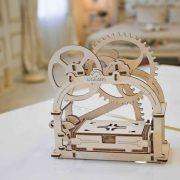 Boite mécanique, mechanical box, ugears, puzzle 3d, maquette, bois, loisirs créatifs, écologique