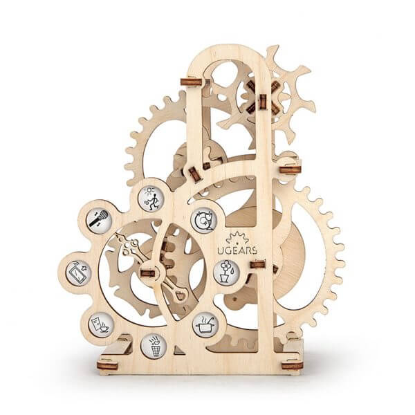 Dynamomètre, Dynamometer, ugears, puzzle 3d, maquette, bois, loisirs créatifs, écologique