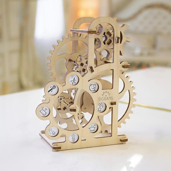 Dynamomètre, Dynamometer, ugears, puzzle 3d, maquette, bois, loisirs créatifs, écologique 3