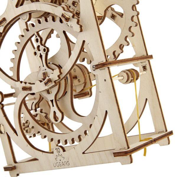 Minuteur 20 min, Timer 20 mn, ugears, puzzle 3d, maquette, bois, loisirs créatifs, écologique 1