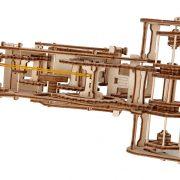 Moissonneuse-batteuse, Combine, ugears, puzzle 3d, maquette, bois, loisirs créatifs, écologique
