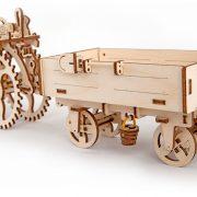 Remorque, Trailer, ugears, puzzle 3d, maquette, bois, loisirs créatifs, écologique