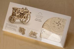 Des puzzles 3D mécaniques en bois impressionnants