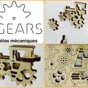 Tribiki, ugears, puzzle 3d, maquette, bois, loisirs créatifs, écologique