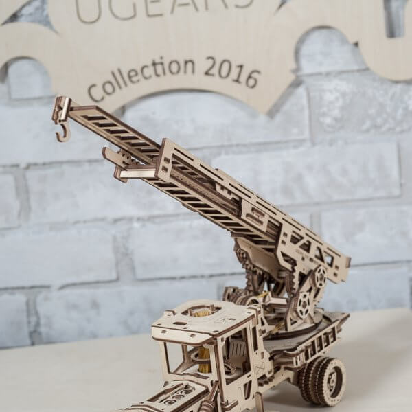 Fire Ladder Addition Truck Ugears 43