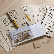 Ugears Fire Ladder Truck Kit Instructions 5305
