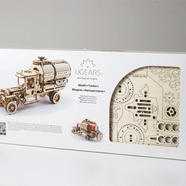 Ugears Tanker Truck Kit-5137