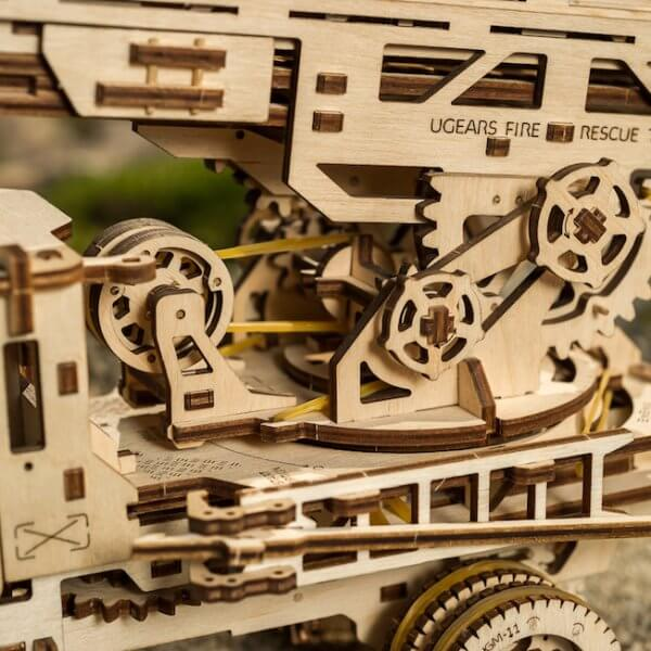 Ugears Truck UGM-11 Additions Fire Ladder 2258