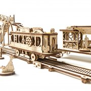 Ligne de Tram – Puzzle 3D Mécanique en bois – Ugears France 11