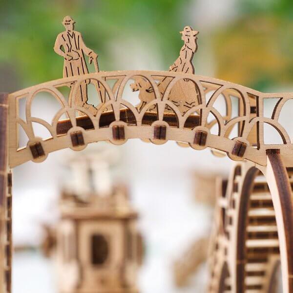 Ligne de Tram – Puzzle 3D Mécanique en bois – Ugears France 30