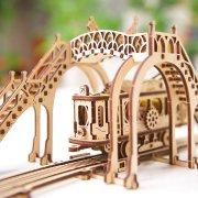 Ligne de Tram – Puzzle 3D Mécanique en bois – Ugears France 34