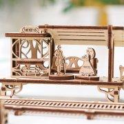 Ligne de Tram – Puzzle 3D Mécanique en bois – Ugears France 36