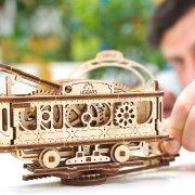 Ligne de Tram – Puzzle 3D Mécanique en bois – Ugears France 47