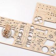 Ligne de Tram – Puzzle 3D Mécanique en bois – Ugears France 48