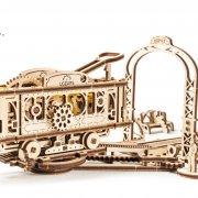 Ligne de Tram – Puzzle 3D Mécanique en bois – Ugears France 5