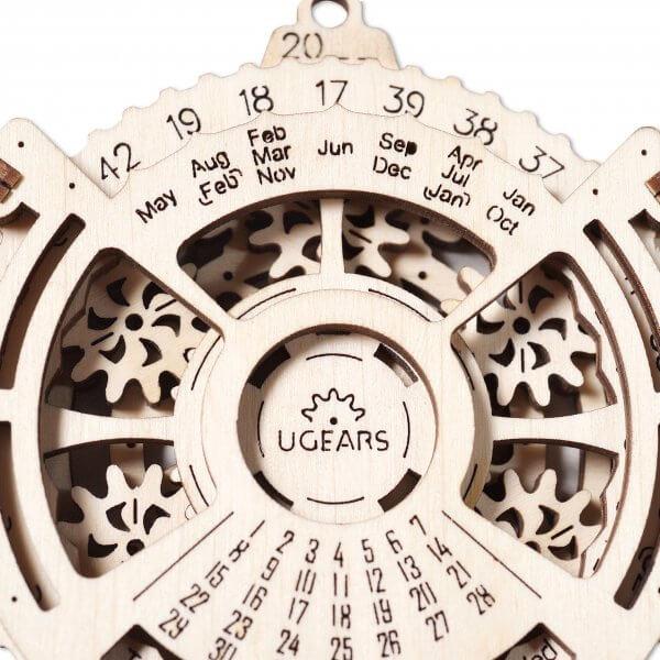 Méca-Calendrier – Puzzle 3d Mécanique en bois – Ugears France 2