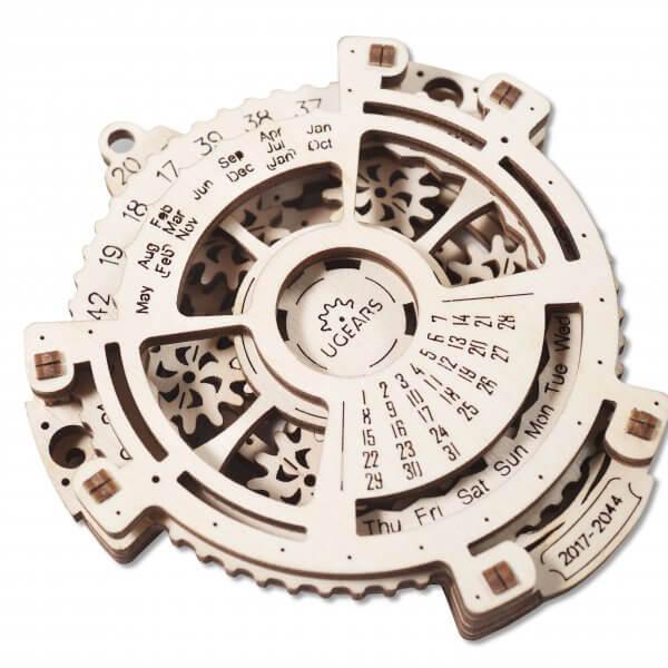 Méca-Calendrier – Puzzle 3d Mécanique en bois – Ugears France 3