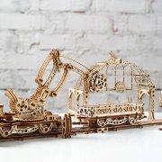 Manipulateur Ferroviaire – Puzzle 3d Mécanique en bois – Ugears France (10)