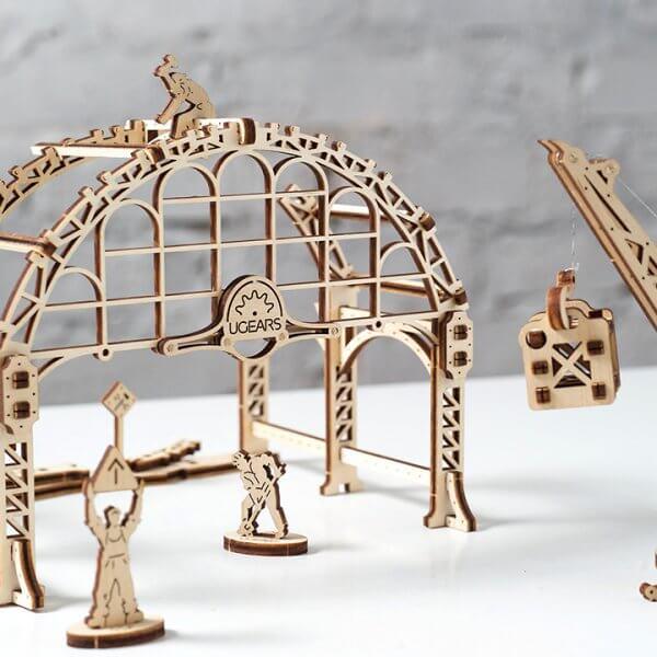 Manipulateur Ferroviaire – Puzzle 3d Mécanique en bois – Ugears France (21)