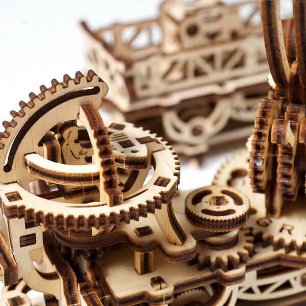 Manipulateur Ferroviaire – Puzzle 3d Mécanique en bois – Ugears France (34)