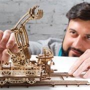 Manipulateur Ferroviaire – Puzzle 3d Mécanique en bois – Ugears France (43)