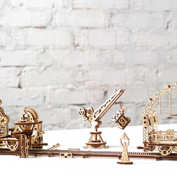 Manipulateur Ferroviaire – Puzzle 3d Mécanique en bois – Ugears France (5)