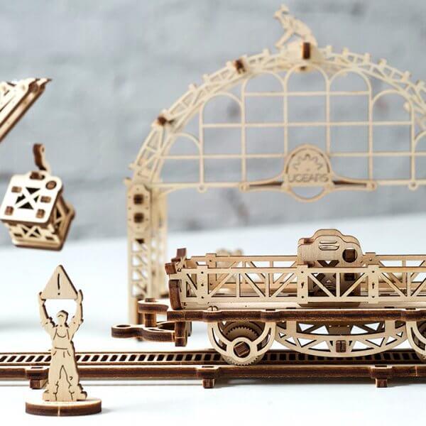 Manipulateur Ferroviaire – Puzzle 3d Mécanique en bois – Ugears France (6)