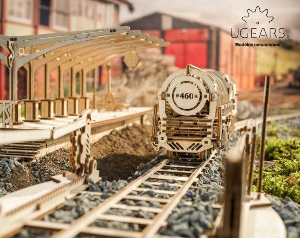 """Pack """"À la Conquête de l'Ouest"""" – Puzzles 3D Mécaniques – Ugears France"""