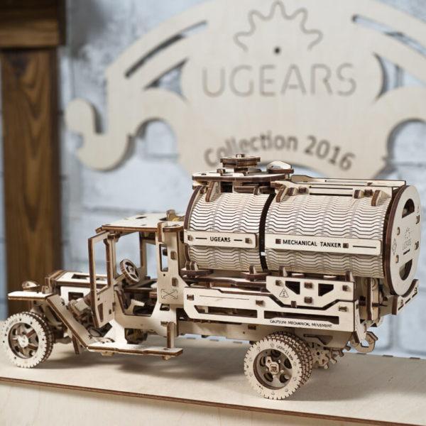 Kit-Additionnel-pour-Camion-UGM-113-Puzzle-3d-Mécanique-en-bois-Ugears-France