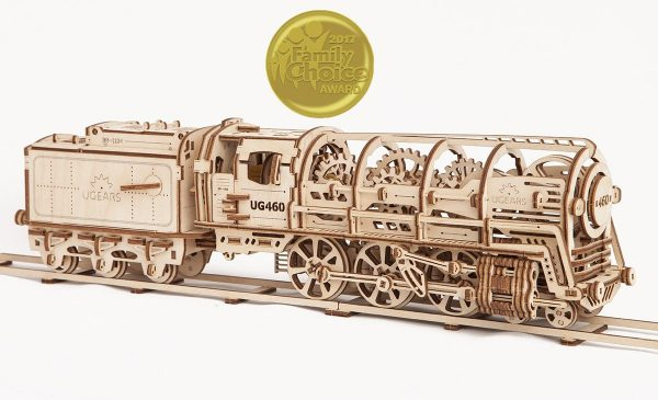 Locomotive 460 UGEARS-Puzzle 3d Mécanique