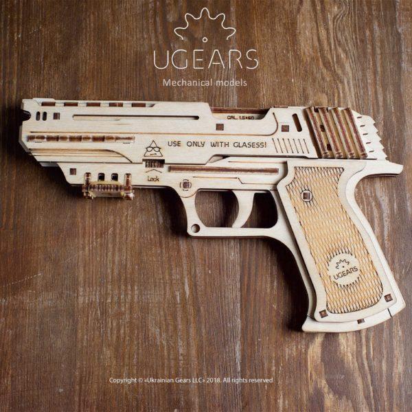 Ugears Handgun Mechanical Model