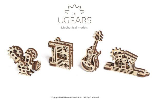 U-Fidget Creation – Puzzle 3d Mécanique en bois – Ugears France + 1