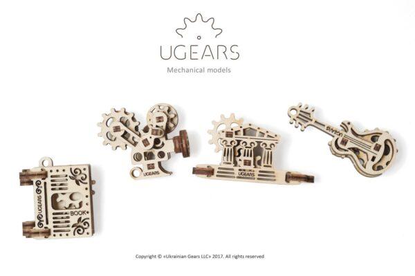 U-Fidget Creation – Puzzle 3d Mécanique en bois – Ugears France + 2