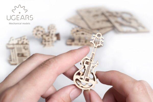 U-Fidget Creation – Puzzle 3d Mécanique en bois – Ugears France + 6