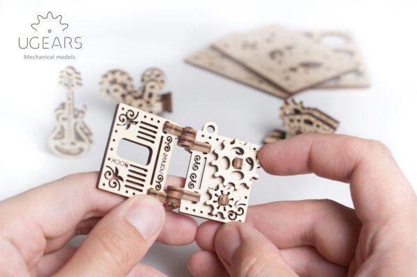 U-Fidget Creation – Puzzle 3d Mécanique en bois – Ugears France + 5
