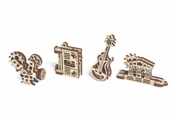 U-Fidget Creation – Puzzle 3d Mécanique en bois – Ugears France + 3