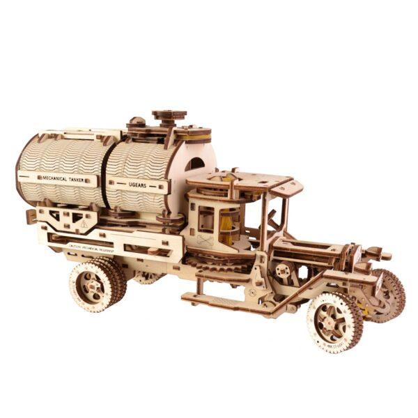 Camion Citerne – Puzzle 3d Mécanique en bois – Ugears France