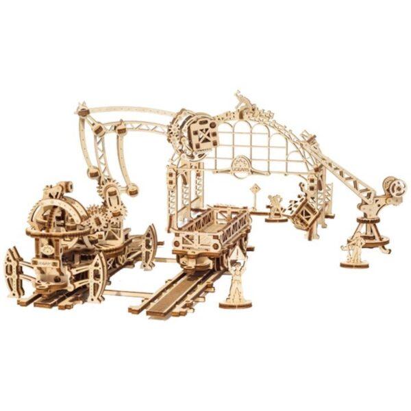 Manipulateur Ferroviaire – Puzzle 3d Mécanique en bois – Ugears France