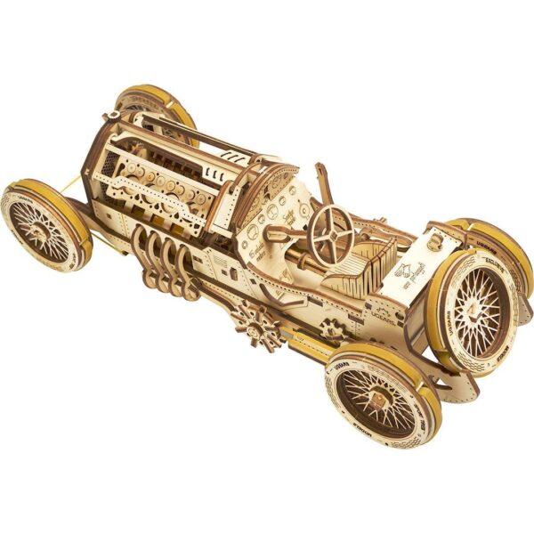"""Bolide U-9 """"Grand Prix""""-Ugears-puzzle 3d mécanique en bois"""