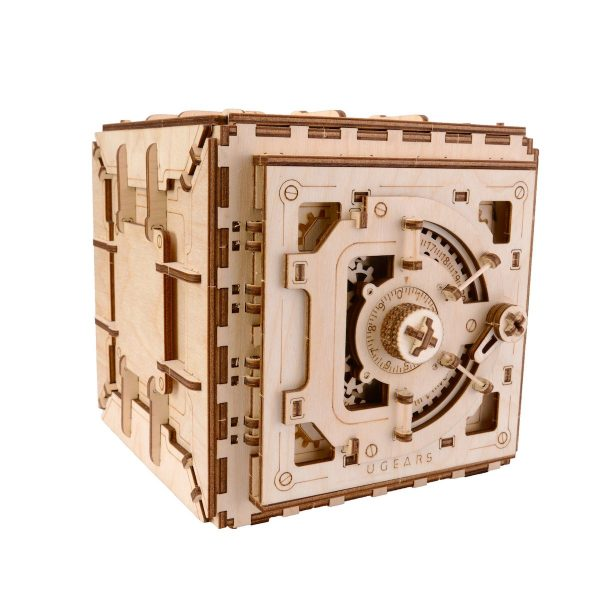 Coffre-Fort Ugears – Puzzle 3d en bois