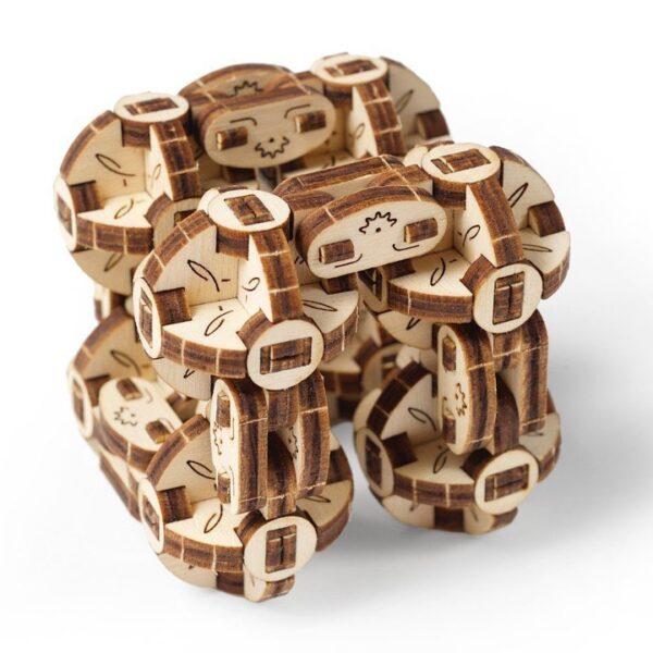 Flexi-Cube Ugears – Puzzle 3d en bois