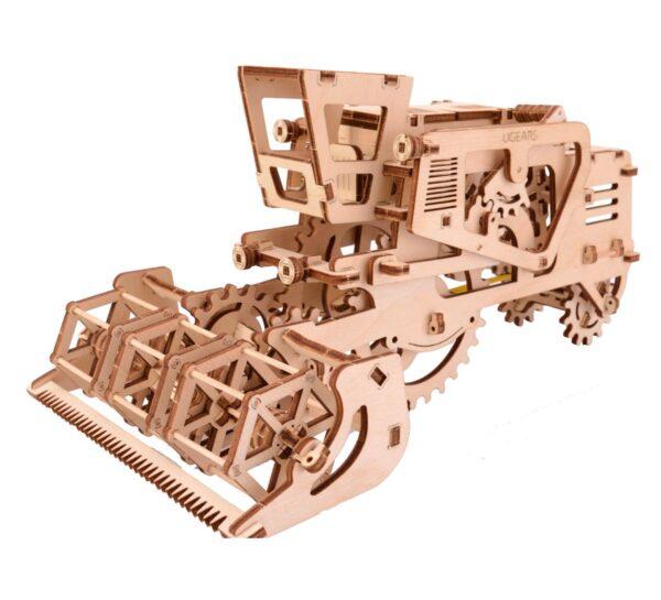 Moissonneuse-batteuse – Puzzle 3d Mécanique en bois – Ugears France + 3