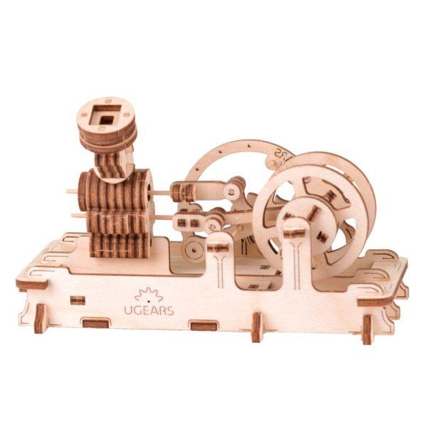 Moteur Pneumatique – Puzzle 3d Mécanique en bois – Ugears France