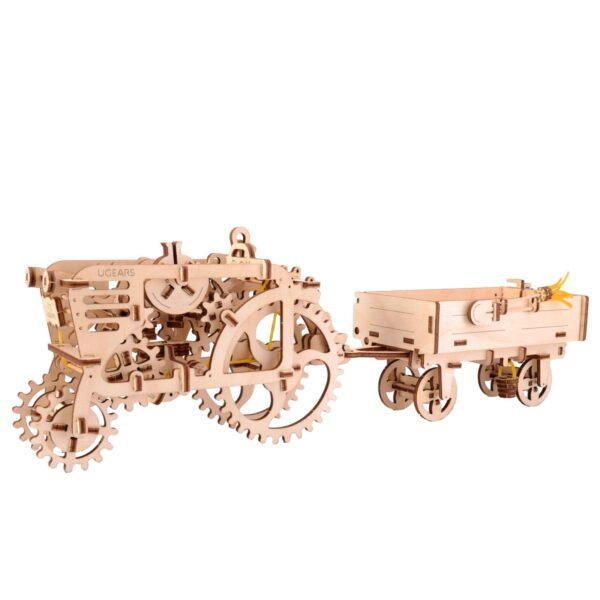 Remorque – Puzzle 3d Mécanique en bois – Ugears France