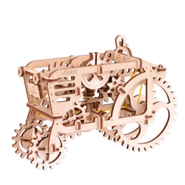Tracteur – Puzzle 3d Mécanique en bois – Ugears France + 3