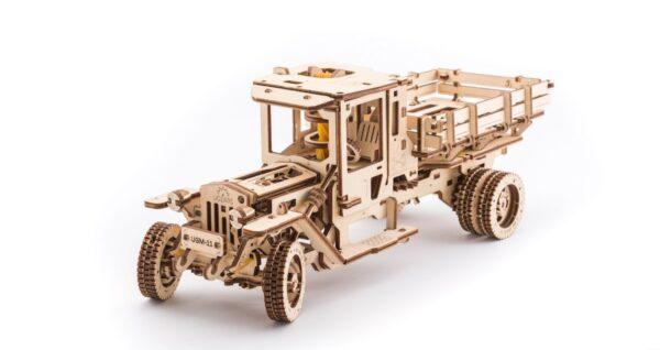 Camion UGM 11 – Puzzle 3d Mécanique En Bois – Ugears France