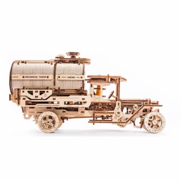 Camion Citerne – Puzzle 3d Mécanique en bois – Ugears France + 3
