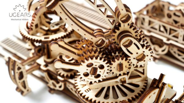 Manipulateur Ferroviaire – Puzzle 3d Mécanique en bois – Ugears France + 1