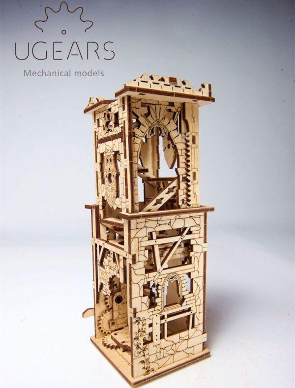Arbalète à Tour – Puzzle 3D Mécanique – Ugears France + 2